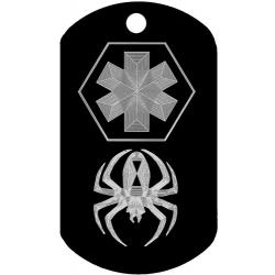 spider medical dogtags