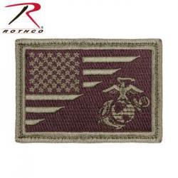 US Flag / USMC EGA Morale Patch