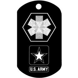 Medical Army Dog Tag